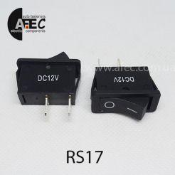 Автомобильный переключатель 35A 12V 2к под отверстие 11,5*28,9мм RS-101-16C