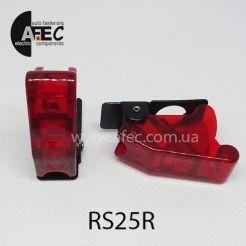 Декоративный колпачок для выключателя RS24 SAC-01 красный