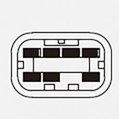 Автомобильная кнопка стеклоподъемника 12V 7к 92.3709 для ВАЗ 21093-3709613-01 УАЗ 3160-3709050 Нива