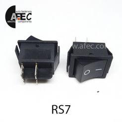 Автомобильный переключатель 35А 12V 4к под отверстие 22*28мм RS-201-1C