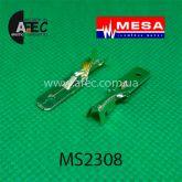 Клемма штыревая (папа) серии 6.3мм( 0,3mm) под кабель 1-2.5мм