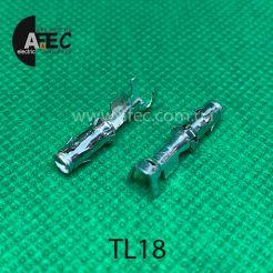 Клемма гнездовая (мама) аналог TE 929974-1 серии 2.5 mm System под кабель 0,5-1мм