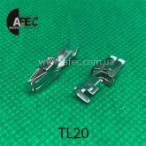 Клемма гнездовая (мама) аналог TE 927833-1 серии  Standard Timer под кабель 1-2.5мм
