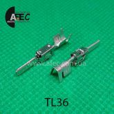 Клемма штыревая 2,8мм аналог TE 1-962842-1 серии Junior Power Timer под кабель 0,5-1.5мм2
