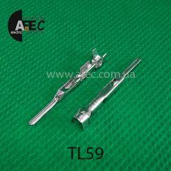 Клемма штыревая папа аналог pin Delphi 15326269 серия GT150
