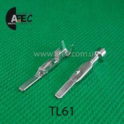 Клемма штыревая папа аналог pin Delphi 15304731 серия GT280
