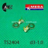 Клемма кольцевая d3,2мм под кабель 0,5-1мм