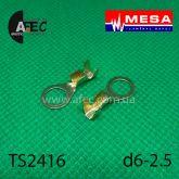Клемма кольцевая d6,2мм (0,5мм) под кабель 1-2,5мм