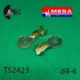 Клемма кольцевая d4,2мм (0,6мм) под кабель 2,5-4мм