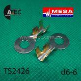 Клемма кольцевая d6.5мм (0,65мм) под кабель 2,5-6мм
