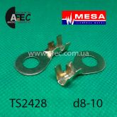 Клемма кольцевая d8.5мм под кабель 4-8мм